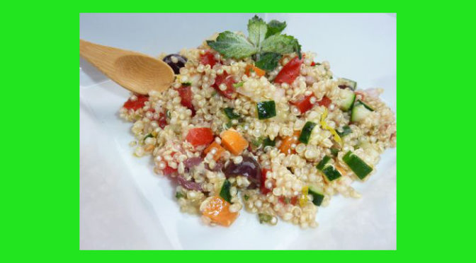 (Italiano) Insalata di quinoa