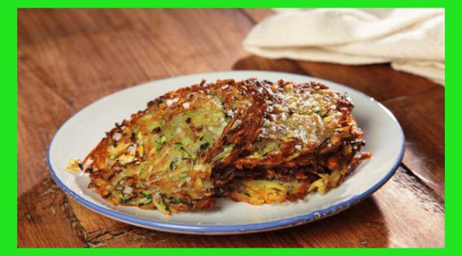 (Italiano) Rosti di patate e zucchine
